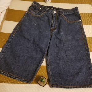 Roca wear men's denim shorts size 34 waist